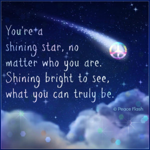 You are a star...