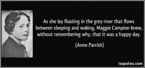 More Anne Parrish Quotes