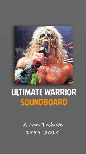 long live the ultimate warrior this unofficial fan tribute to the ...