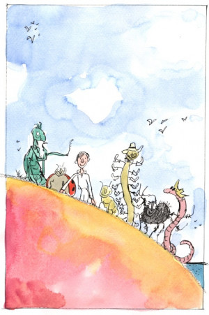 James and The Giant Peach illustration James Of Arci, James Henry ...