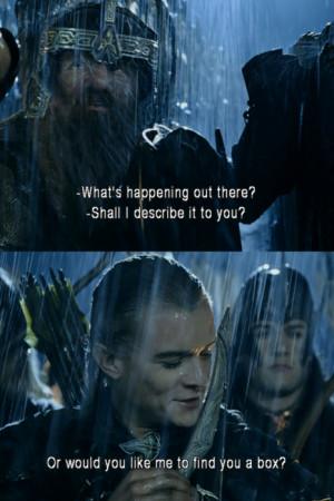 Gimli & Legolas