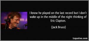 Eric Clapton Quotes Picture quote: facebook cover