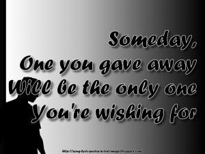 Mariah Carey Quotes (someday - mariah carey song