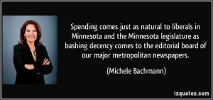 to liberals in Minnesota and the Minnesota legislature as bashing ...
