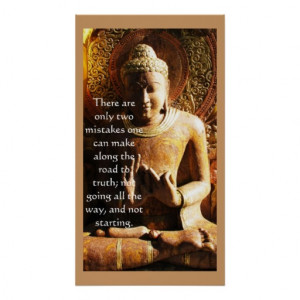 Buddha quote about seeking the TRUTH Print