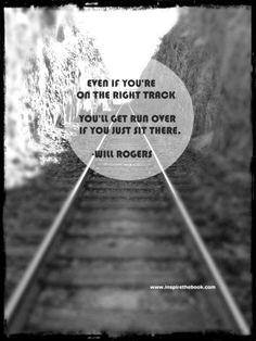 ... quote #rogers #railroad #tracks #procrastination #train #motivation #