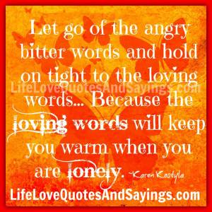 Angry and Love Quotes