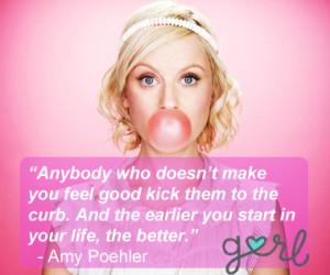 Amy Poehler Quote Bubble Gum Pink copy