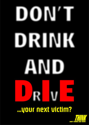 Drink Driving Poster 1 by Erador