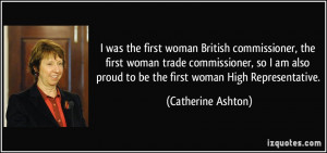 More Catherine Ashton Quotes
