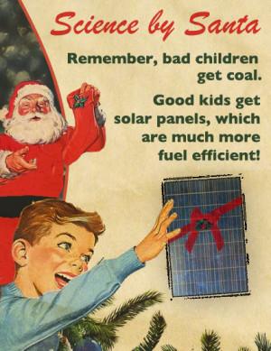 Bad children get coal