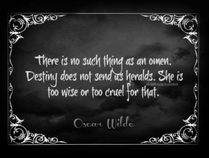 Oscar wilde, quotes, sayings, destiny, wise
