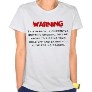 Funny Quitting Smoking Light Shirts