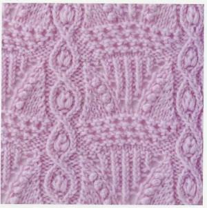 Lace Knitting Stitch #42