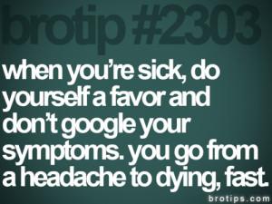 sick internet brotips Paranoid dying doctor hospital illness paranoia ...