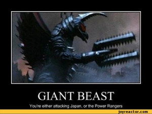 ... either attacking Japan, or the Power Rangers,funny pictures,auto