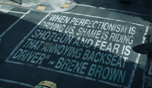 """recently ran across a very powerful quote regarding """"Perfectionism ..."""