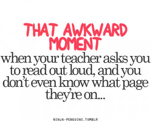 The awkward moment #awkward moments #quote #quotes #words #text
