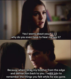 The Vampire Diaries TV Show TVD Quotes