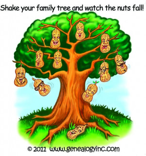 Shake your family tree and watch the nuts fall!