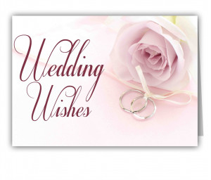 25 Wedding Messages and Wishes
