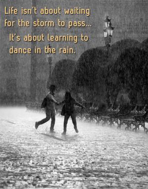 Rainy Day Romantic Couple Quotes