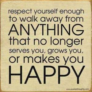 sometimes you just have to walk away..