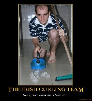 irish curling a good way to practice curling at home view curling ...