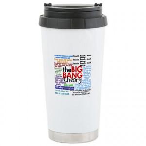 Big Bang Gifts > Big Bang Mugs > Big Bang Quotes Ceramic Travel Mug