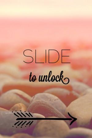 Slide To Unlock Wallpaper