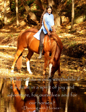 Inspirational Horse Quotes Picture