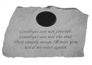 ... are not forever.....