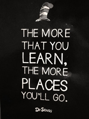 Some #WordsOfWisdom to live by! #DrSeuss #PlacesYoullGo http://t.co ...