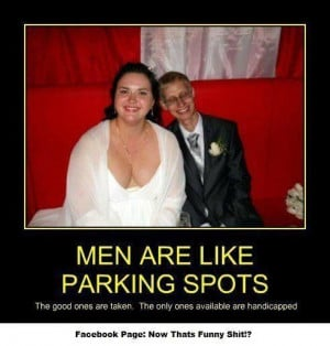 Men Are Like Parking