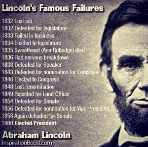 Famous Motivational Quotes and Sayings about Failure Fail Failures Try ...