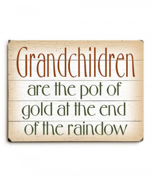 Take a look at this 'Grandchildren' Wall Art on zulily today!