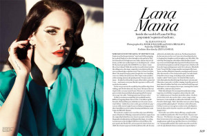 ... Rey Turns Up the Glam for Fashion Magazine's Summer 2013 Cover Shoot