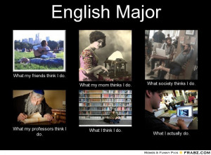 English Major Meme