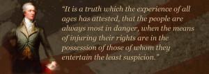 Alexander Hamilton Constitution Quotes
