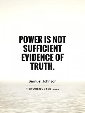 Power of Truth Quotes