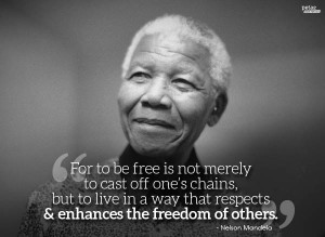 Mandela's compassion extended to animals—he was a patron of the ...