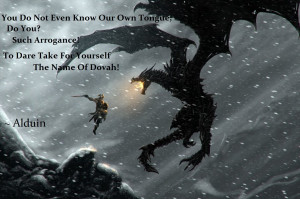 Quotes Skyrim Elder Scrolls V The Paarthurnax