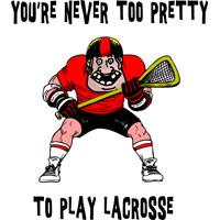 ... Lacrosse T Shirt - Hooded Sweatshirt - Lacrosse Apparel Clothing