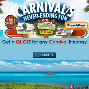 Carnival Cruise Quote