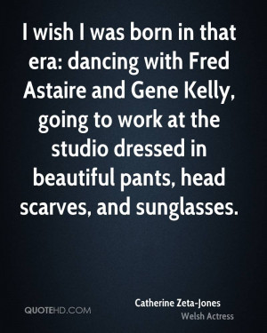 wish I was born in that era: dancing with Fred Astaire and Gene Kelly ...