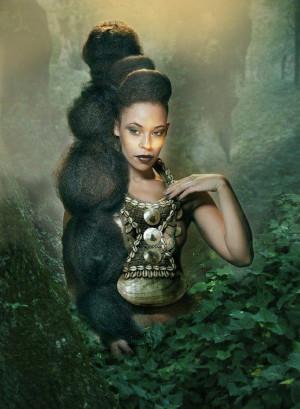 Nubian QueenEbony Art, Black Rapunzel, Black Hair, Beautiful, Nature ...