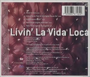 RICKY MARTIN Livin' La Vida Loca - The Remixes (Deleted 1999 Mexican 5 ...