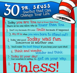 30 Dr Seuss Quotes That Can Change Your Life Infographic Concepts