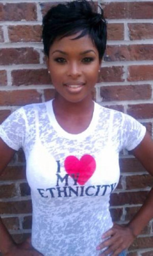 Black women love to look trendy and that is why imitating short black ...