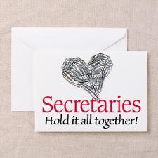 Secretaries Multi Task Greeting Cards (Pk of 20)